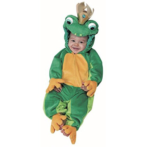 Infant Baby Frog Prince Costume Toddler 2-4 ()