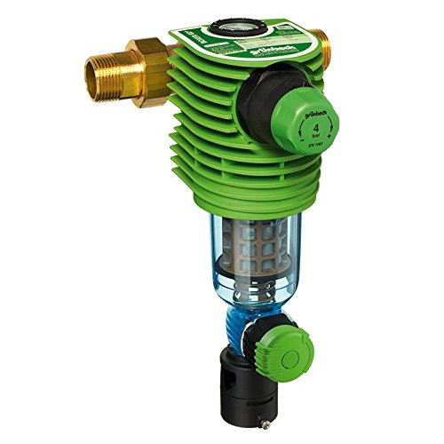 Grünbeck Boxer RD Water Filter/Backwash Filter Boxer 1 Inch with Pressure Reducer 101 360
