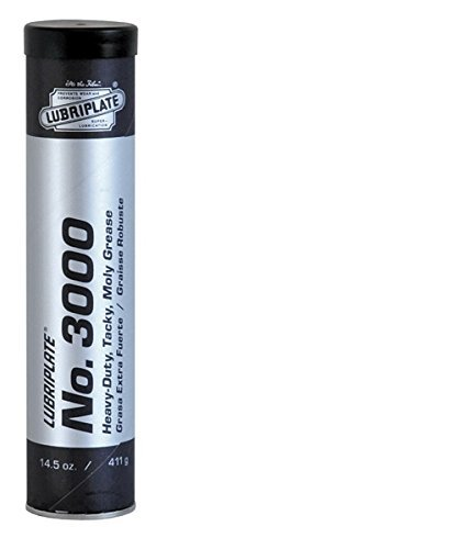 Lubriplate Fluid Products No. 3000, L0108-098, Moly-Lithium Type Grease, CTN 40/14.5 Oz Cart. by Lubriplate