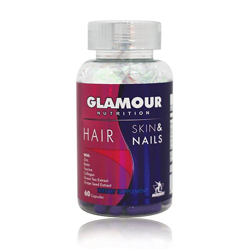 Midway Labs Glamour Nutrition Hair Skin & Nails, 60 ()