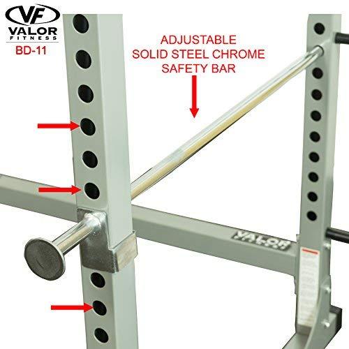 Valor Fitness Bd 11 Hard Power Rack W Available Bundle