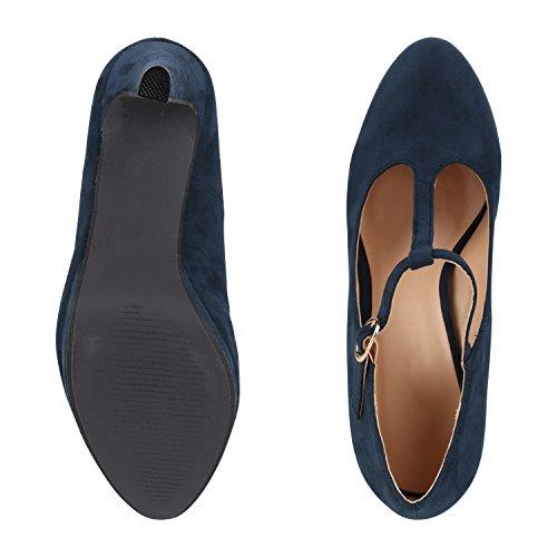 napoli-fashion - Cerrado Mujer Blau Velours