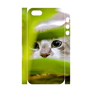 3D Case For Samsung Galaxy S3 i9300 Cover , Cute Cat Hiding Case For Samsung Galaxy S3 i9300 Cover , Stevebrown5v White