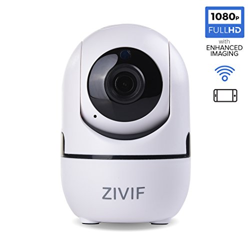 HD WiFi 1080P Ip Camera 2MP, Indoor Home Security Surveillance Wireless Security Camera/Baby Monitor, Pan/Tilt, Two-Way Audio & Night (120 Dvr Software)