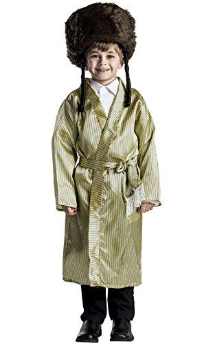 Jewish Rabbi Children's Costume By Dress Up America - Toddler -
