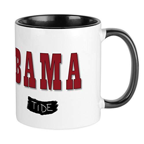 (CafePress Alabama Crimson Tide Mugs Unique Coffee Mug, Coffee Cup)