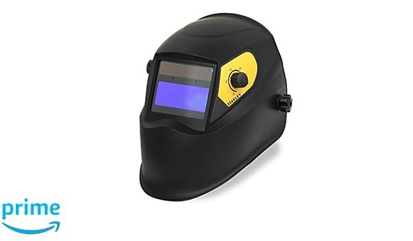 Stanley 460413 - Casco de seguridad para soldar (LCD, DIN 9-13): Amazon.es: Industria, empresas y ciencia