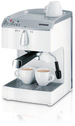Severin KA5987 Máquina espresso 1.5L Blanco - Cafetera (Máquina ...