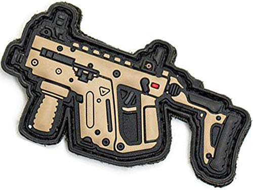 Evike Aprilla Design PVC IFF Hook and Loop Warfare Armory Series Patch (Gun: Kriss Vector DE)