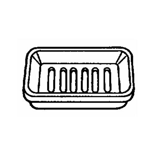 Plastic Counter Soap Dish ()