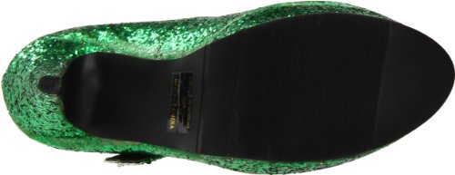 Shoes Ellie M Americano Donna jane Glitter Glitter g Green Maryjane Black Pump 421 8 6rdvrO