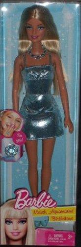 Birthstone Barbie Doll March Aquamarine – For Birthdays in March, Baby & Kids Zone