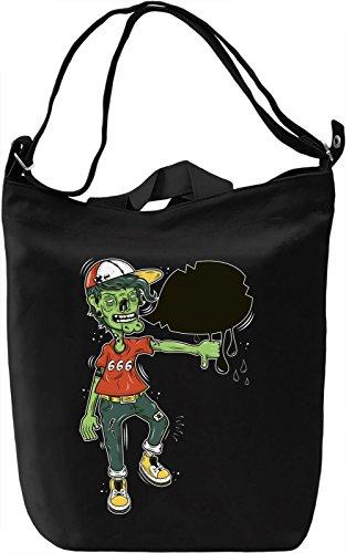 Zombie boy 666 Borsa Giornaliera Canvas Canvas Day Bag| 100% Premium Cotton Canvas| DTG Printing|