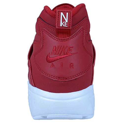 NIKE Men's Air Diamond Turf Deion Sanders Gym Red/Gym Red-White 309434-600 Shoe 9.5 M US Men Hfyd9