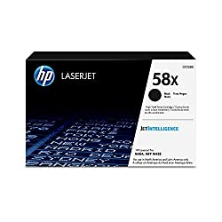 Image of the product HP 58X High Yield Black that is listed on the catalogue brand of HP.