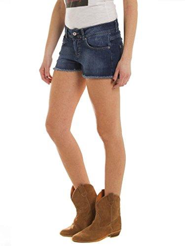 look Jeans bassa normale Medio 710 donna tessuto Lavaggio Shorts denim vita elasticizzato 799 vestibilità per Stone Carrera Wash Blu wR7qxXdq