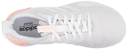 Adidas Femmes Questar Ride W Chaussure De Course Blanc / Gris Un / Haze Corail