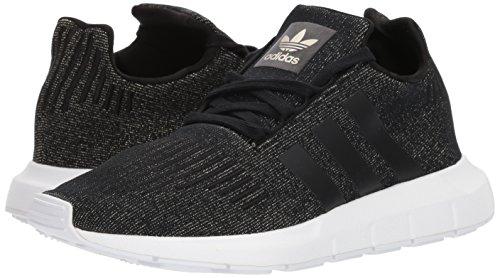 Adidas Originals Women's Swift W Running-Shoes,Core Black/Core Black/White,9.5 M US
