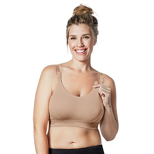 Bravado! Designs Women's Original Nursing Bra Double Plus, Butterscotch, Medium