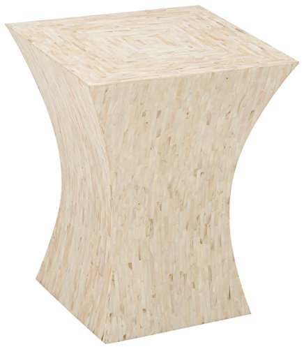 Deco 79 49095 Wood Inlay Accent Table, 15