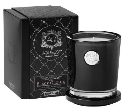 Aquiesse Fine Scented Large Candle In Box - Black Orchid 11oz ()