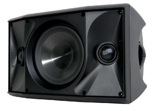 "SpeakerCraft OE DT6 One 6-1/2"" 2-Way Outdoor Speaker (Each) Black/White ASM80605"