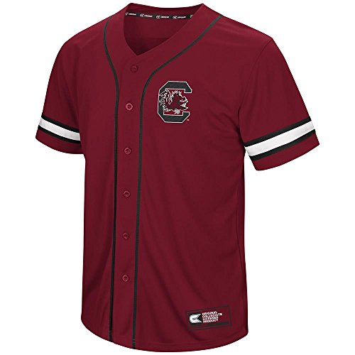 Mens South Carolina Gamecocks Baseball Jersey - S