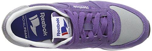 Grey purple Classic Grey Donna white paper Jogger Viola Sneakers Reebok Slt White bbll Da lvndr PfqzdYwxw