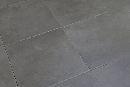 Echantillon De Devon Stone Dalle De Sol Gris De Base Blanc 33 X 33