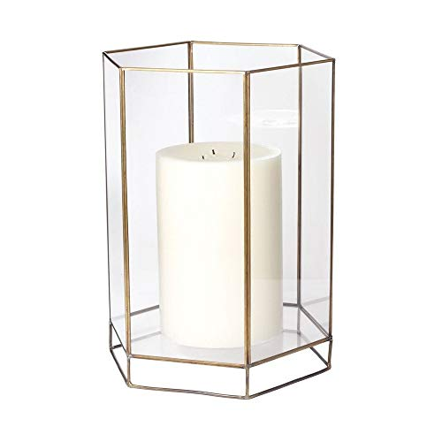 Dimond Home Large Glass Oriel Hurricane