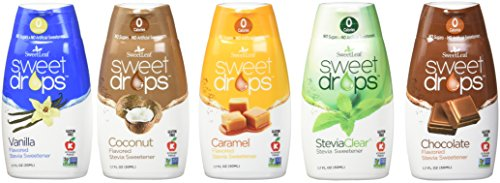 SweetLeaf Sweet Drops Liquid Stevia Variety 5 Pack 1.7 fl. oz ()