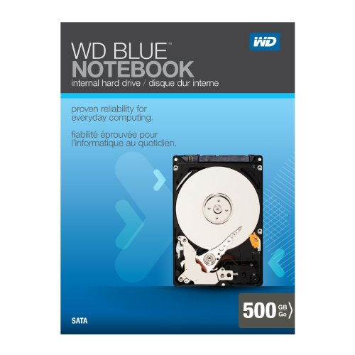 WD Blue Notebook 500GB SATA 3.0 Gb/s 2.5-Inch Internal Notebook Hard Drive Retail Kit by Western Digital (Image #13)