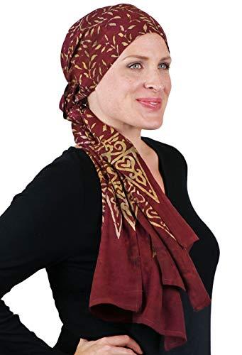Head Scarf for Women Cancer Headwear Chemo Scarves Headcover Turban Head Wrap 15