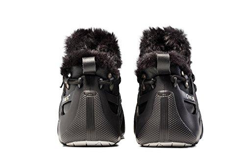 Onemix Hoge Wintersporten Laarzen Fashion Sneakers Drie Manieren Van Het Dragen Van Romeinse Schoenen Zwart