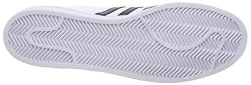 adidas Superstar, Zapatillas Para Hombre Blanco (Ftwbla/Negbas/Ftwbla 000)