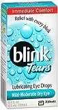 Blink Tears Lubricating Eye Drops Mild-Moderate Dry Eye - 0.5 oz, Pack of