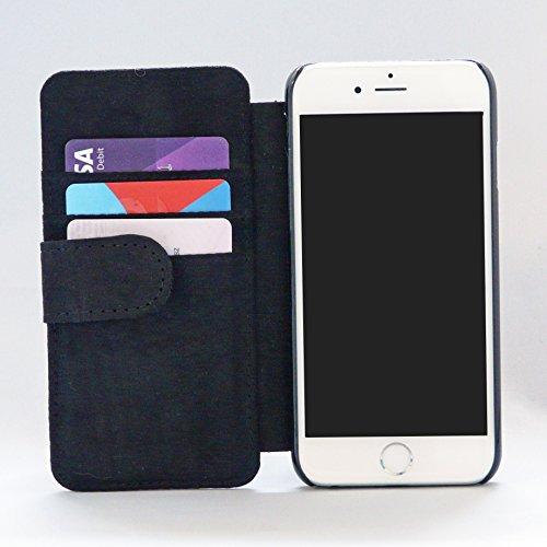 Green Heisenberg - Heineken Breaking Bad Printed Design iPhone 6 Magnetic Clasp Wallet Book Leather Flip Case