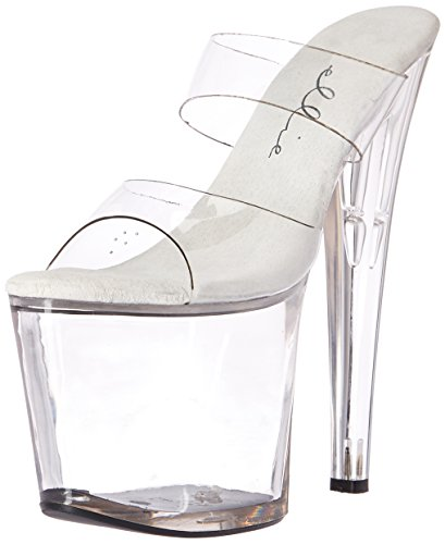 Ellie Shoes 821 coco coco Womens Transparent 821 Size Clear rrxwq6S