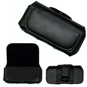 Amazon.com: Executive Black Horizontal Leather Side Case