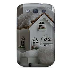 Excellent Design Winter Birdhouse Case Cover For Galaxy S3
