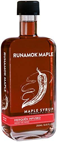 (Runamok Maple, Spicy Vermont Maple Syrup, Merquén Infused, 8.45 Ounce, 250mL)