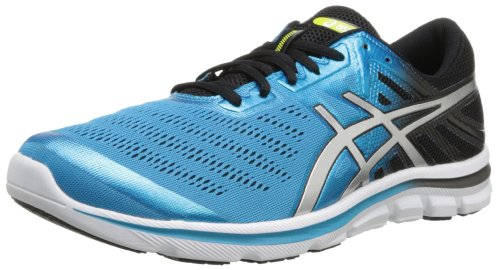 ASICS Men's Gel Electro33 Running Shoe,Turquoise/Lightning/Black,8.5 M US