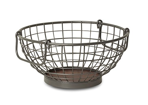 Spectrum Diversified Vintage Fruit Bowl, Industrial Gray