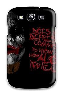 Shilo Cray Joseph's Shop High-end Case Cover Protector For Galaxy S3(the Joker)