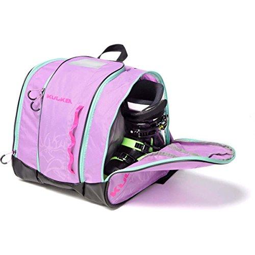 Sizing Kids Ski Boots (Kulkea Speed Star - Kids Ski Boot Bag, Lavender/Pink/Green)