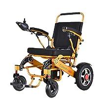 ComfyGO 2019 Fold & Travel Lightweight Motorized Electric Power Wheelchair Scooter, Aviation Travel Safe Electric Wheelchair Heavy Duty Power Wheelchair