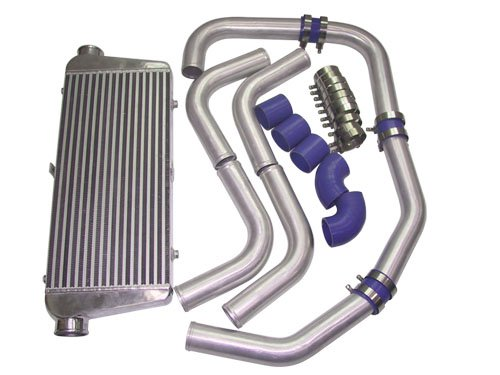 31x12x3 inch Universal Intercooler + 3 inch Piping Kit MUSTANG 3000GT SRT-4