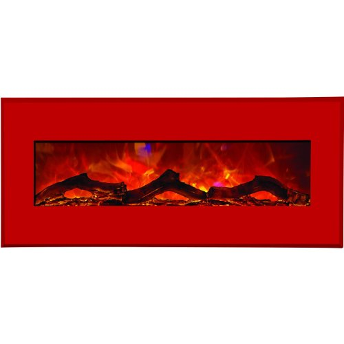 Cheap Amantii Advanced Series Wall Mount/Built-In Electric Fireplace with Candy Apple Red Steel Surround 43 Inch (WM-BI-43-5123-CANDYAPPLERED) Black Friday & Cyber Monday 2019