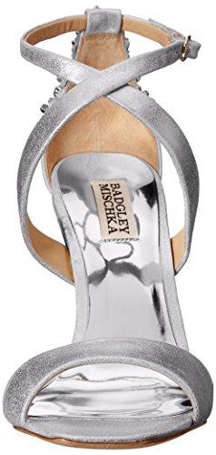 Ii Sandalo Vestito Argento Badgley Donne Mischka Cadenza Delle qgBwFECC