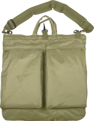 Rothco Flyers Helmet Shoulder Bag, Olive Drab